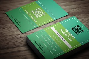 Colorful Individual Business Card