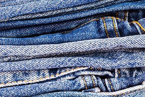 lot of denim blue jean texture