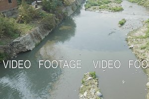 Water pollution of Bagmati River in
