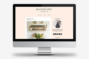 Blissed Out / WordPress Theme