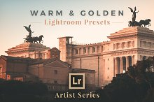 Warm & Golden Lightroom Presets by  in Actions
