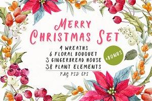 Christmas set + Bonus!