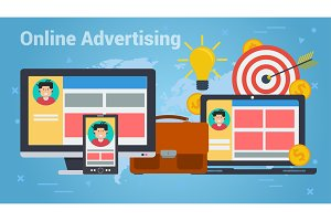 Business Banner - Online advertising