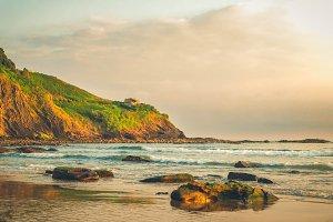 Cantabrian Sea coast and Deba town