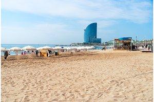 Barcelonetta beach, Barcelona