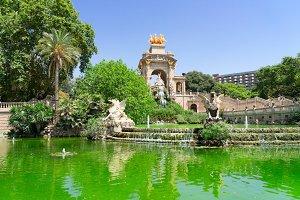 Park Ciutadella of Barcelona