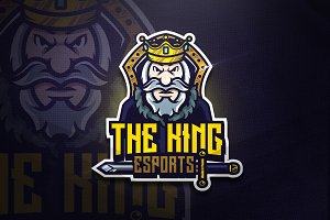The King - Mascot & Esport Logo