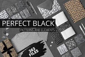 Perfect Black Pattern Colection