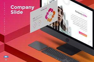 Company Slide - Keynote Template