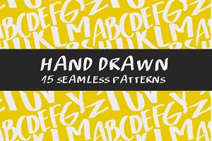 Hand Drawn seamless pattern