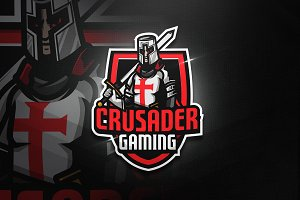 Crusader Gaming - Mascot & Esport Lo