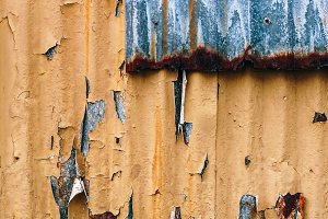 Yellow and Gray Metal Texture