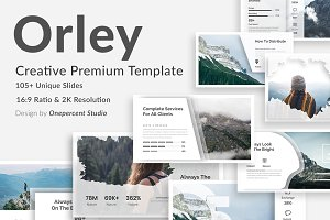 Orley Creative Google Slide Template