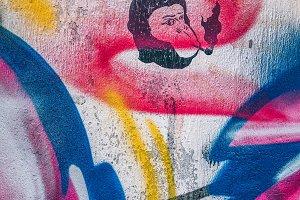 Monkey Stencil Street Art