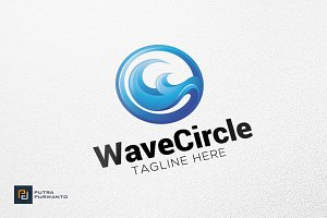 Wave Circle - Logo Template