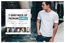 T-Shirt Mock-Up Premium Bundle