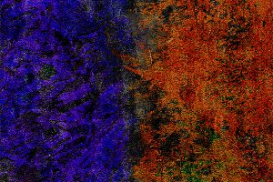 Colored Rusty Abstract Grunge Textur