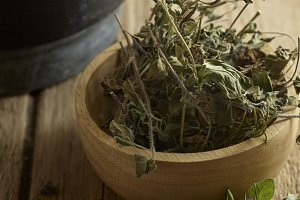 Rosemary and oregano Leaves dried