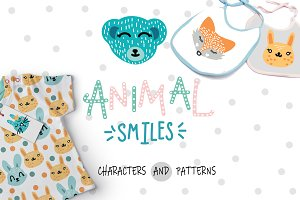 Kids Pattern and Animal Characters