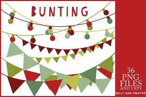 Christmas Lights & Bunting