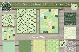 Quilt Patterns  Paper Pack Q-P3