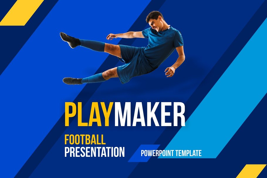 Football Presentation Template Powerpoint Templates
