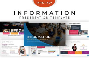 Information Presentation Template