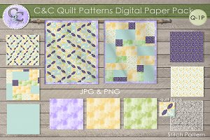 Quilt Patterns Paper Pack Q-2