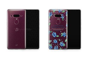 HTC U12 Plus UV TPU Clear Case