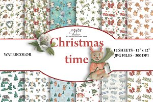 Christmas time paper