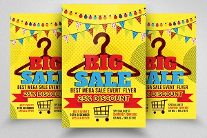 Big Sale Offer Poster Template