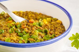 Lentil curry, Indian cuisine, dal