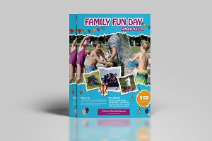 Family Fun Day Flyer V845