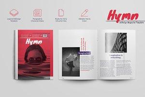 Hymn - Magazine Template