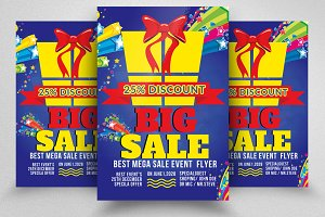 Sale Offer Mega Discount Poster
