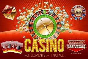 Casino vector bundle 40 + alphabet