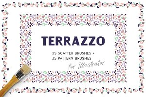Terrazzo Vector Brushes