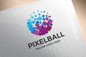 Pixel Ball Logo