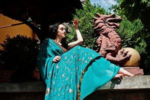 Indian hindu woman