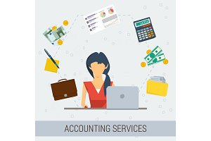 Accounting services flat
