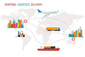Logistics and delivery from one city