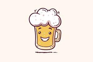 Beer Mascot