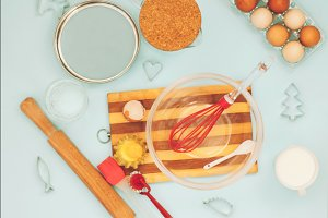 items for cooking cookies