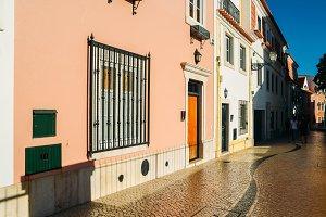 Cascais street scene, Portugal