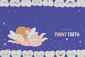 Funny tooth/Dental for kids