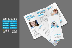 Dental Clinic Tri-Fold