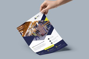 Editable Corporate Flyer [5 Formats]