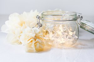 Fairy Lights in Jar