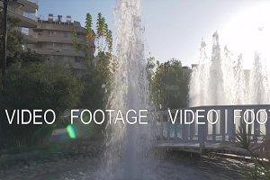 Resort landscape design with