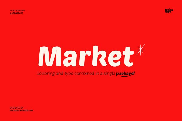 Fonts: Latinotype - Market - Intro Offer 77% off